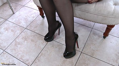 Pantyhose orgasm, Fingers solo hd
