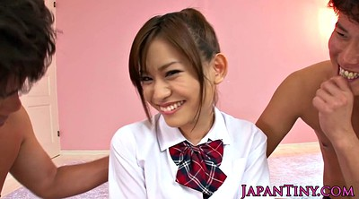 Japanese anal, Japanese teen, Japanese schoolgirl, Japanese uniform, Japanese threesome