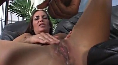 Deep throat, Interracial creampie