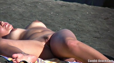 Beach, Nudist, Ladies voyeurs, Ladies voyeur