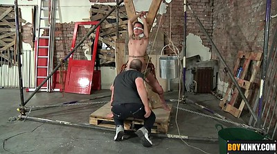 Tied, Tied up, Young man, Slowly, Gay man, Bondage handjob