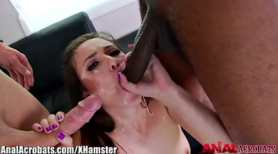 Anal threesome, Stockings anal, Anal stocking