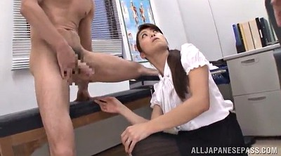 Panties, Skirt, Asian office, Asian doctor