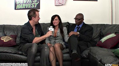 Lisa ann, Mature interracial, Man