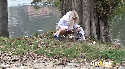 Pissing, Pee compilation, Outside