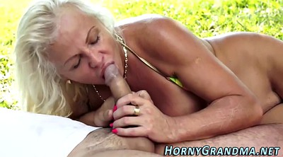 Outdoor, Anal grannies
