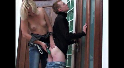 Mistress, Pegging, Slave anal, Teen slave, Russian mistress