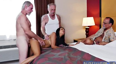 Older woman, Two men, Older, Nikki