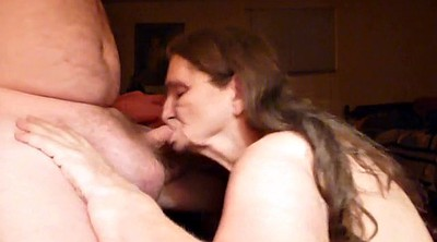 Swallow cum, Mature blowjob, Husband