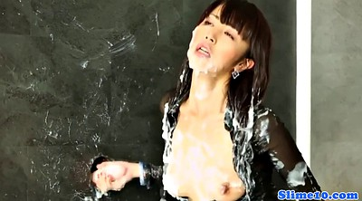 Nylon, Glory hole, Asian solo, Funny, Asian bukkake