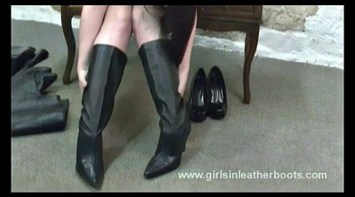 Leather, Leather boot