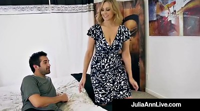 Step mom, Julia ann, Julia, Mature mom, Anne, Mom & son