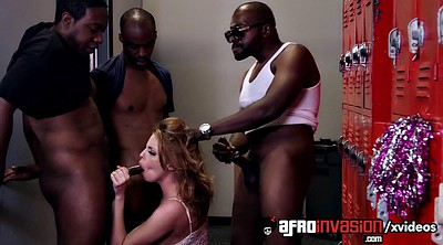 Blowbang, Black teacher, Locker room