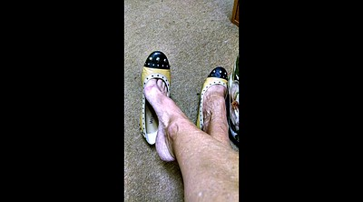 Shoe, Shoes, Shoe feet, Mature foot