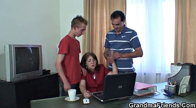 Grannies, Matures, Mature threesome