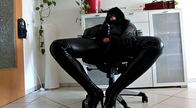 Crossdresser, Leather, Glove