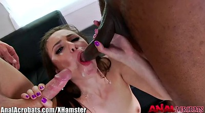 Stockings anal, Double