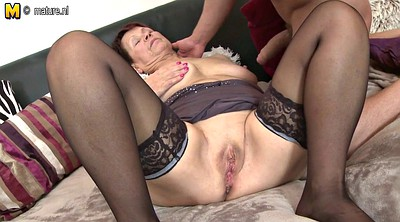 Grandma, Mature and boy, Mature amateur, Grandmas