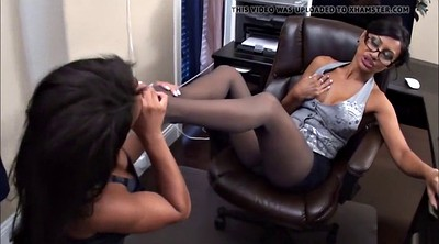 Nylon feet, Pantyhose feet, Feet lick