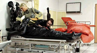 Rubber, Catheter, Clinic, Strapon latex, Latex strapon, Latex bdsm