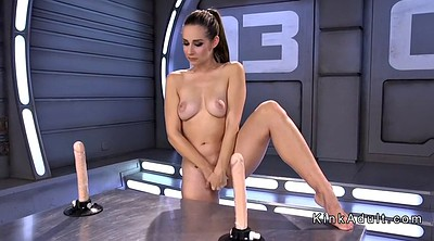 Machine, Insertion, Anal dildo, Machine anal, Throat fuck, Insert
