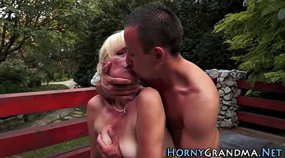 Grandma, Mature blowjob