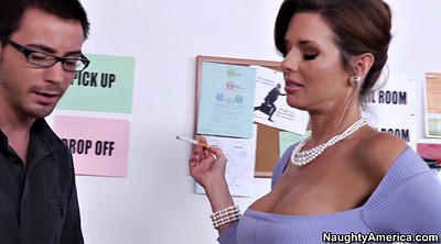 Veronica avluv, Busty tease, Avluv, Milf boss, Boss office, Seduces