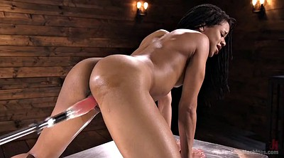 Ebony anal, Anal sex, Machine