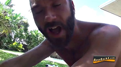 Outdoor blowjob, Gay raw