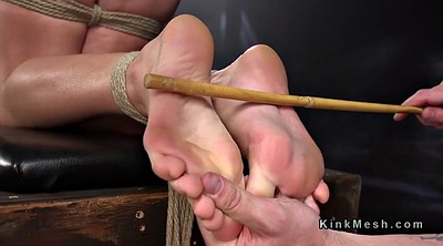 Spank, Caning, Caned, Tied feet