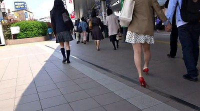 Sexy, Leg, Japanese leggings, Japanese voyeur, Japanese leg