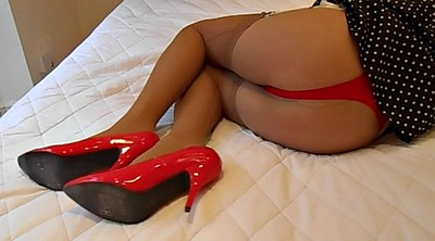 Nylon stockings, Red