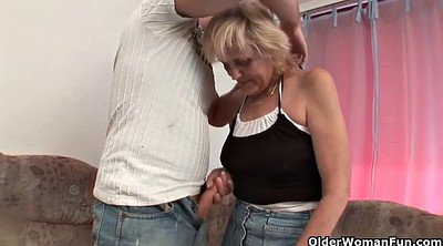 Old, Tits mom, Old mom