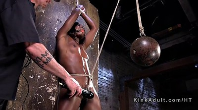 Pain, Rope, Slave pain, Roped, Black slave