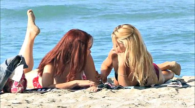 Beach, Long hair, Lesbian outdoor