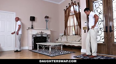 Doggy, Swapping, Daddy daughter, Dad daughter sex