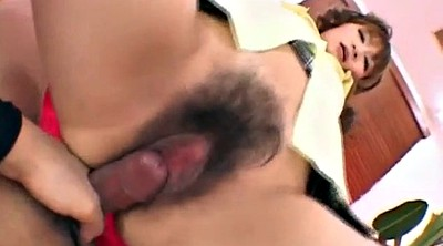 Hairy creampie, Japanese model, Asian model