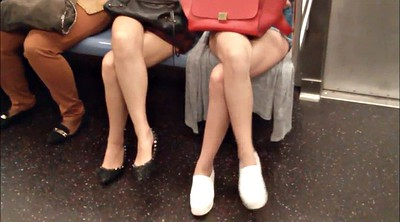 Asian leg, Asian voyeur, Asian train