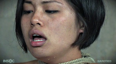 Asian bdsm, Short hair, Tie, Asian tied, Tied asian, Humiliated