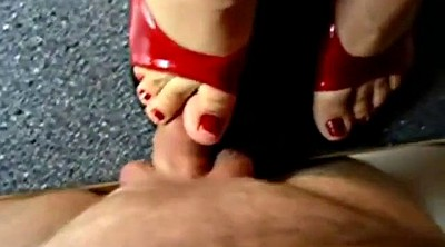 Trample, Trampling, Mature feet, Ejaculation