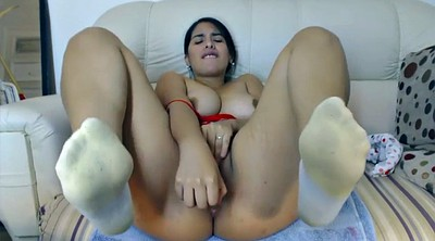 Sock, Socks, Feet masturbation, Feet solo, Socking, Fuck my
