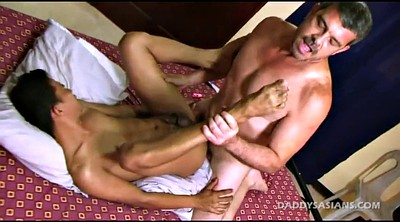 Daddy, Asian gay, Asian interracial, Gay feet, Gay asian, Young feet