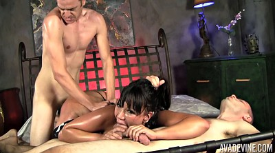 Hairy mature, Mature latina, Mature threesome