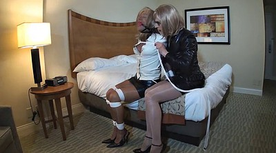 Bondage, Gay bondage, Crossdressing