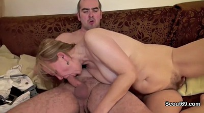 Dad, Mom anal, Mature mom, Mature couple, Granny orgasm, German mom