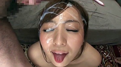 Asian bukkake, Creamy, Japanese milf