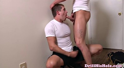 Drool, Muscle, Huge, Huge dick, Huge cumshot