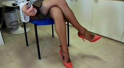 Shoe, Shoes, Nylons, Office nylon