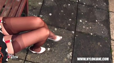 Feet, Nylon feet, Tall, Feet nylon, Walk, Nylon stockings