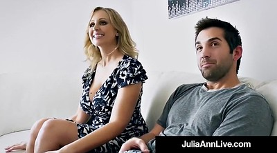 Julia ann, Step mom, Julia, Step son, Tits, Son mom